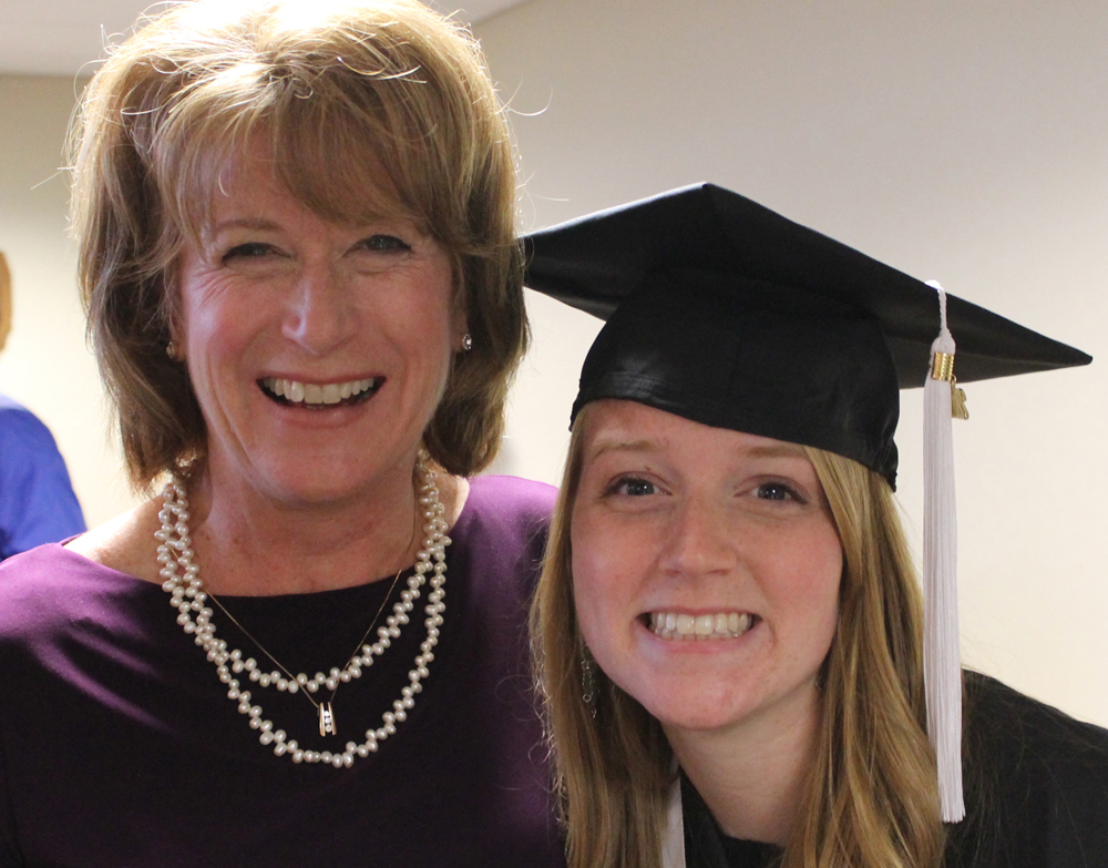 Kerry and Mom graduation 2015